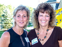 Kathy Rogers and Mary Clements