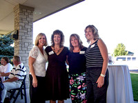 Terry Clark, Mary Clements, Mary Allen, and Missy Allen